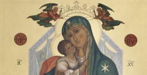 Maria SS. dello Sterpeto in trono